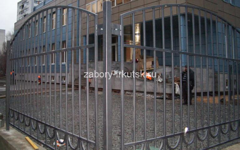 забор из профтрубы в Иркутске